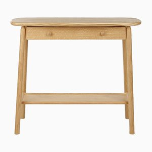 Oak Hardy Console with Drawer by Another Country