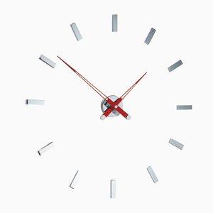 Horloge Tacon i 12ts Rouge par José Maria Reina pour NOMON