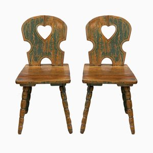 19th Century Childrens Chairs, Set of 2
