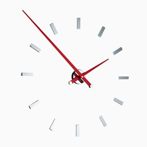 Tacon L 12ts Red Clock by Jose Maria Reina for NOMON