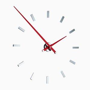 Horloge Tacon L 12 ts Rouge par José Maria Reina pour NOMON