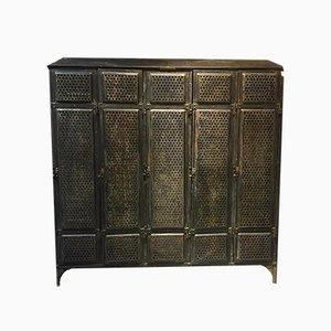 Mueble alemán antiguo de metal de F.Küppersbusch & Söhne