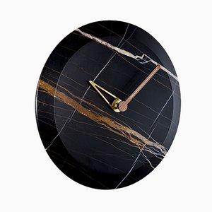 Bari M Sahara Noir Clock by Andrés Martínez for NOMON