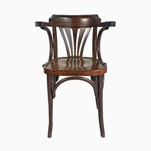 Vintage Wooden Armchair, 1940s