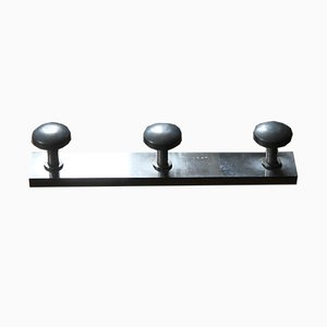 Polished Aluminum Coat Rack, 1920s