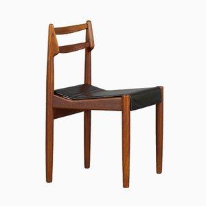 Dänische Mid-Century Stühle aus Teak, 1960er, 3er Set