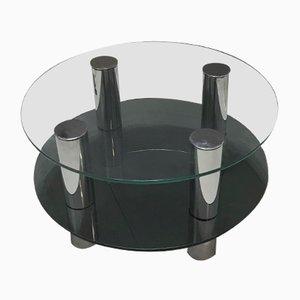 Table Basse Ronde par Marco Zanuso, 1970s