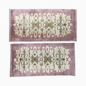 Französische Art Deco Teppiche, 2er Set