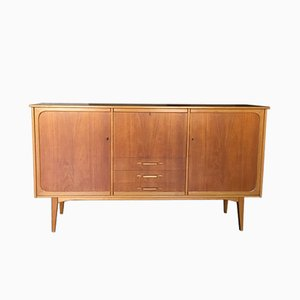 Vintage Swedish Teak & Oak Sideboard, 1960s