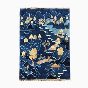 Chinesischer Vintage Teppich, 1950er