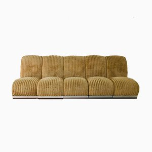 Modular Lounge Chairs, 1970s, Set of 5