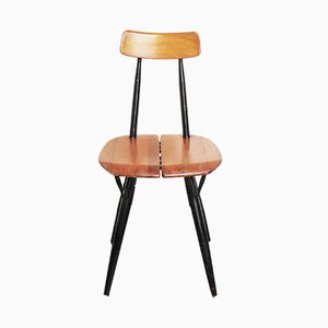 Pirkka Stuhl von Ilmari Tapiovaara für Laukaan Puu, 1950er