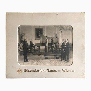 Poster Publicitaire Bosendorfer Grand Piano par Karl Karger, 1892