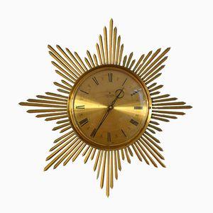 Horloge Murale Soleil, 1950s