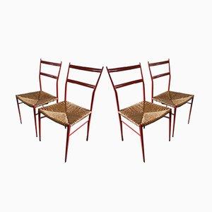 Superleggera Stühle von Gio Ponti, 1960er, 2er Set