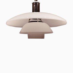 Lámpara colgante modelo 41/2-4 de Poul Henningsen para Louis Poulsen, años 80