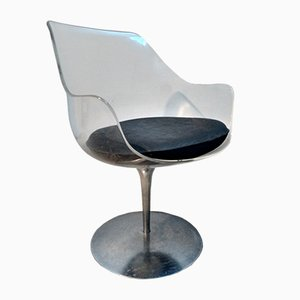Vintage Champagne Chair by Estelle Laverne for Formes Nouvelles