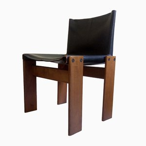 Vintage Monk Chairs by Afra & Tobia Scarpa for Molteni, Set of 4