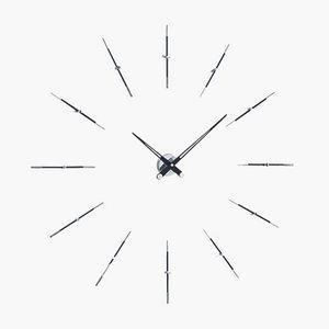 Black Merlin i 12ts Clock by Jose Maria Reina for NOMON