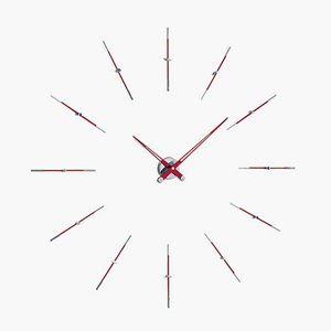 Red Merlin i 12ts Clock by Jose Maria Reina for NOMON