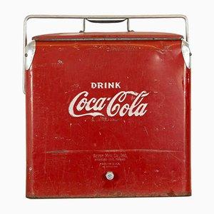 Vintage Coca Cola Cooler, 1950s