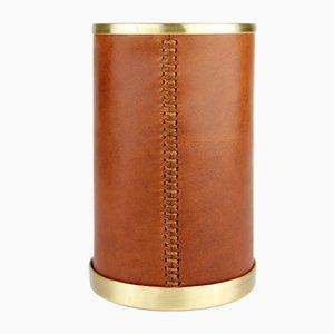 Lange braune Alyans Schreibtischbehälter von Merve Parnas für Uniqka, 2018