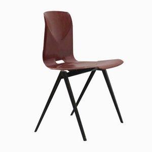 Brauner Vintage S22 Stuhl aus Mahagoni von Galvanitas