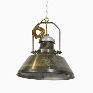 Lampe à Suspension Industrielle de Holophane, 1930s