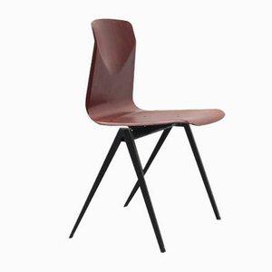 Vintage S22 Stuhl aus Mahagoni von Galvanitas