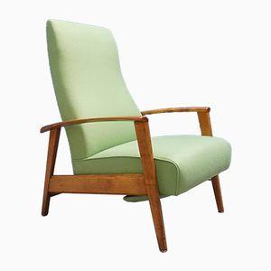 Mid-Century Modern Danish Reclining Armchair, 1960s