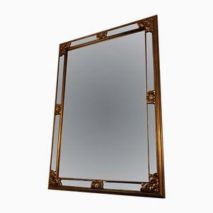 Vintage Spiegel mit goldenem Rahmen von Deknudt, 1970er