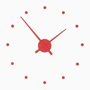 Mini Horloge OJ Rouge par José Maria Reina pour NOMON