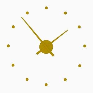 Senfgelbe OJ Mini-Uhr von Jose Maria Reina für NOMON