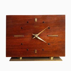 Orologio da tavolo vintage di Junghans, anni '60