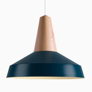 Peacock Oak Eikon Circus Pendant Lamp from Schneid Studio