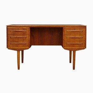Dänischer Vintage Schreibtisch aus Teak von J. Svenstrup