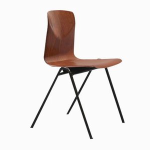 Vintage S25 Stuhl aus Eiche von Galvanitas