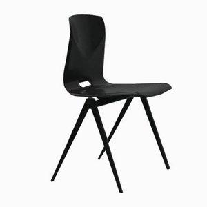 Schwarzer Vintage S22 Ebony Stuhl von Galvanitas