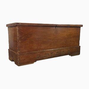 Baúl grande de roble, siglo XVIII