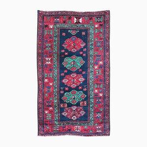 Vintage Handmade Caucasian Kazak Rug, 1930s