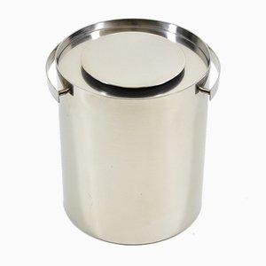 Vintage Danish Ice Bucket by Cylinda Arne Jacobsen for Stelton, 1967