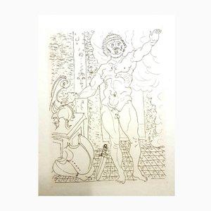 Originale Ovid's Heroides Radierung von André Derain