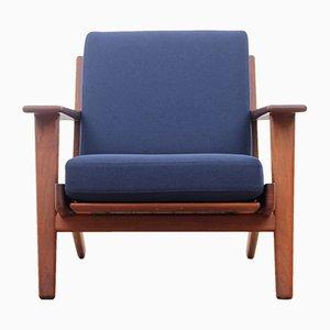 GE290 Armlehnstuhl aus Teak von Hans J. Wegner für Getama, 1950er