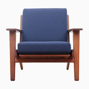 GE290 Teak Armchair by Hans J. Wegner for Getama, 1950s