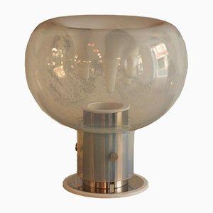 Lámpara de mesa grande de cristal de Murano de Toni Zuccheri para VeArt, años 70