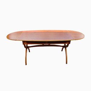 Drop-Leaf Desk or Dining Table by Børge Mogensen for Søborg Møbelfabrik, 1950s