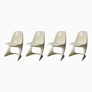 Vintage Model 2004/2005 Casalino Chairs by Alexander Begge for Casala, Set of 4