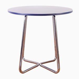 Table Tubulaire Style Bauhaus par Karel E. Ort pour Hynek Gottwald, 1930s
