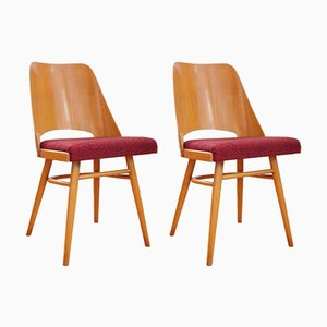 Czechoslovak No. 514 Dining Chairs by Radomir Hofman for TON, 1964, Set of 2