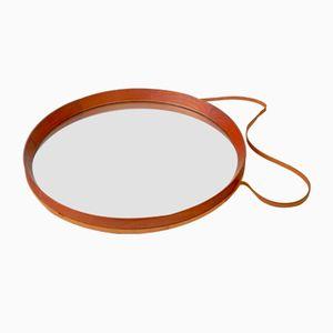 Vintage Swedish Teak Mirror from Glas & Trä